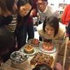 アナトミー最終日はケーキでお祝いです☆.。.:*・°の画像